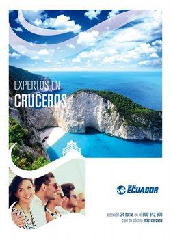 Ofertas de Viajes  en el folleto de Viajes Ecuador en Castelldefels