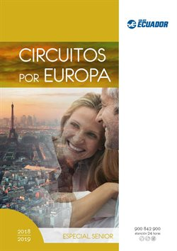Ofertas de Viajes Ecuador  en el folleto de Barcelona