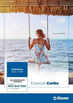 Ofertas de Viajes Ecuador  en el folleto de Barakaldo