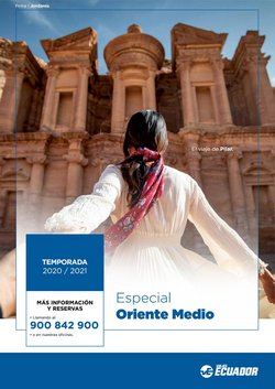Catálogo Viajes Ecuador en Torrejón ( Más de un mes )