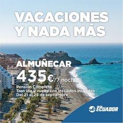 Catálogo Viajes Ecuador ( Caduca mañana)