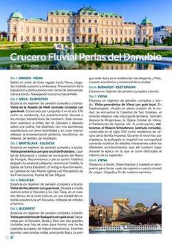Ofertas de Cruceros  en el folleto de B The travel Brand en Palamos