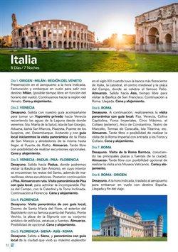Ofertas de Viajes a Roma  en el folleto de B The travel Brand en Sevilla