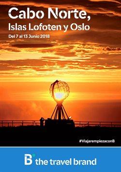 Ofertas de Viajes  en el folleto de B The travel Brand en San Sebastián de los Reyes