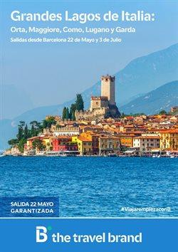 Ofertas de Viajes a Italia  en el folleto de B The travel Brand en Madrid