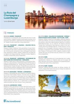 Ofertas de Viajes a París  en el folleto de B The travel Brand en Mairena del Aljarafe