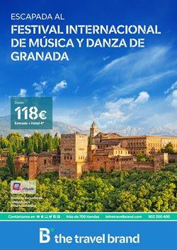 Ofertas de B The travel Brand  en el folleto de Madrid