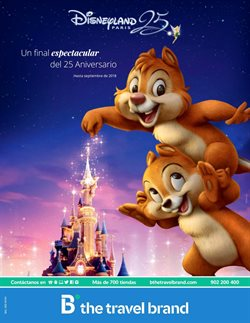 Ofertas de Viajes a Disneyland  en el folleto de B The travel Brand en Barcelona
