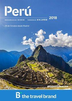 Ofertas de Viajes a Perú  en el folleto de B The travel Brand en Madrid
