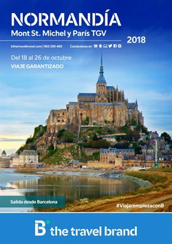 Ofertas de B The travel Brand  en el folleto de Zaragoza