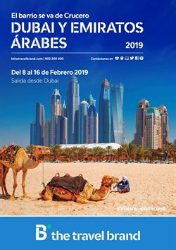 Ofertas de Viajes a Dubai  en el folleto de B The travel Brand en Telde