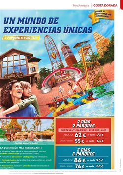 Ofertas de Costa Dorada en B The travel Brand