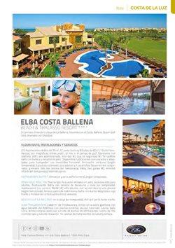Ofertas de Costa de la Luz en B The travel Brand