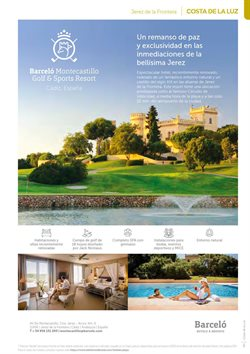 Ofertas de Golf en B The travel Brand