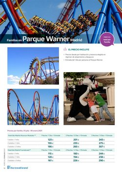 Ofertas de Parque Warner en B The travel Brand