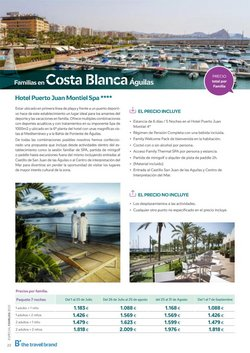 Ofertas de Costa Blanca en B The travel Brand