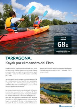 Ofertas de Kayak en B The travel Brand