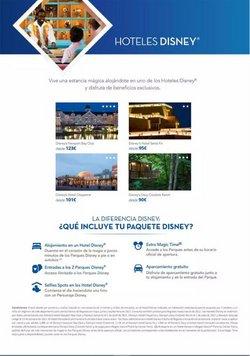 Ofertas de Disney en el catálogo de B The travel Brand ( 2 días más)