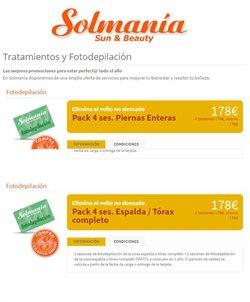 Ofertas de Solmania  en el folleto de Barcelona