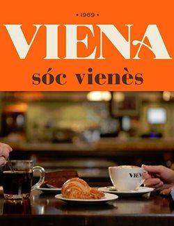 Ofertas de Viena  en el folleto de Barcelona