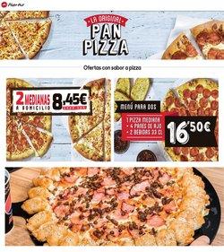 Ofertas de Restauración  en el folleto de Pizza Hut en Corvera de Asturias