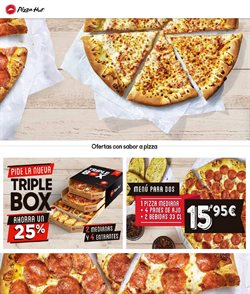 Ofertas de Restauración  en el folleto de Pizza Hut en Astillero
