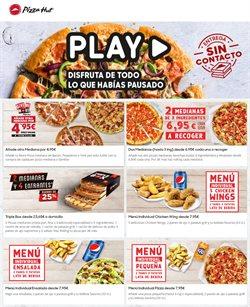 Ofertas de Restauración en el catálogo de Pizza Hut en Palma de Mallorca ( 2 días más )