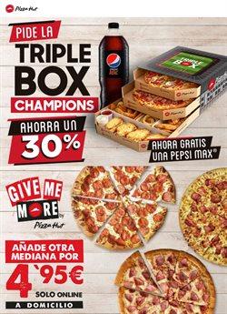 Catálogo Pizza Hut en Torrejón ( 2 días más )