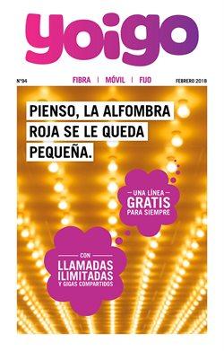 Ofertas de Informática y electrónica  en el folleto de Yoigo en Palamos