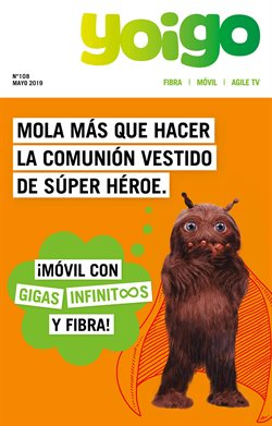 Ofertas de Yoigo  en el folleto de Barcelona