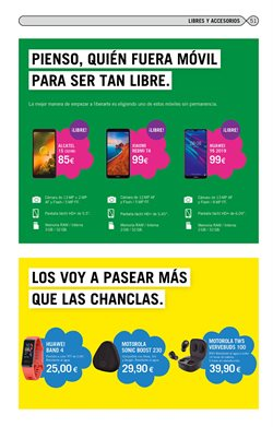 Ofertas de Motorola en Yoigo