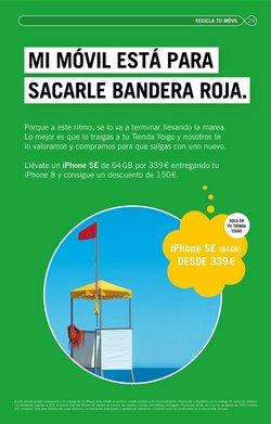 Ofertas de IPhone 8 en Yoigo