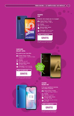 Ofertas de Samsung Galaxy A20e en Yoigo