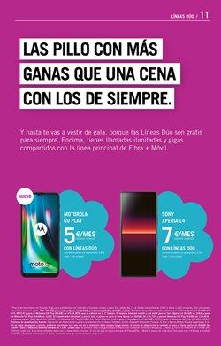 Ofertas de Smartphones Sony en Yoigo
