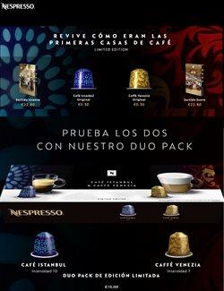 Ofertas de Nespresso  en el folleto de Cartagena