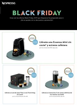 Ofertas de Nespresso  en el folleto de Sabadell