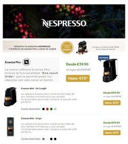 Catálogo Nespresso en Vila-real ( Más de un mes )