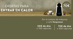 Ofertas de Cafetera de cápsulas  en el folleto de Nespresso en Madrid