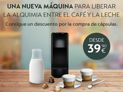 Ofertas de Nespresso  en el folleto de Barcelona