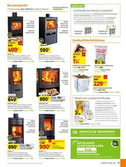 Ofertas de Combustible para barbacoas  en el folleto de Leroy Merlin en Madrid