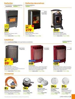 Ofertas de Accesorios para estufas  en el folleto de Leroy Merlin en Madrid