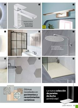 Ofertas de Conjunto de ducha  en el folleto de Leroy Merlin en Madrid