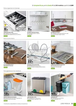 Ofertas de Menaje de cocina  en el folleto de Leroy Merlin en Córdoba
