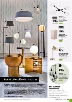 Ofertas de Iluminación  en el folleto de Leroy Merlin en Madrid