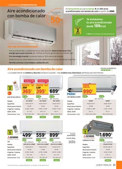 Ofertas de Mitsubishi Electric  en el folleto de Leroy Merlin en Madrid