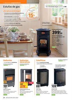 Ofertas de Estufa de gas  en el folleto de Leroy Merlin en Madrid