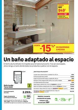 Ofertas de Mampara de baño  en el folleto de Leroy Merlin en Madrid