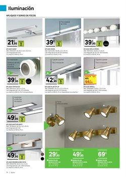 Ofertas de Lámpara de techo  en el folleto de Leroy Merlin en Madrid