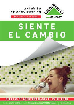 Ofertas de Jardín y bricolaje  en el folleto de Leroy Merlin en Ávila