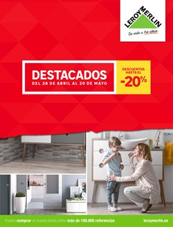 Ofertas de Jardín y bricolaje  en el folleto de Leroy Merlin en Sanlúcar de Barrameda